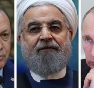 تركيا وايران وروسيا وادلب السورية