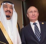مباحثات بين الملك سلمان وبوتين حول سوريا