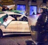 توقيف جزائريين بسبب الاحتفالات في فرنسا