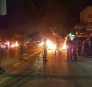 اضراب شامل في طولكرم