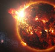 عاصفة شمسية ستضرب الارض