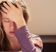 الانهيار العاطفي لللنساء