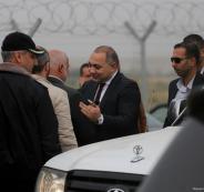 الوفد الامني المصري في قطاع غزة ورام الله
