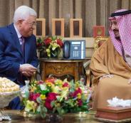 محمود عباس والملك سلمان