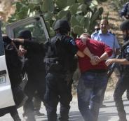 اعتقال لص في رام الله