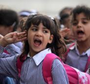اضراب في مدراس الضفة الغربية