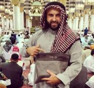 صحفي اسرائيلي داخل المسجد النبوي الشريف