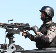 مواجهات بين الامن الاردني ومواطنين في عجلون
