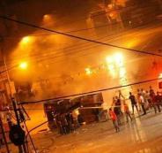 اصابات في  اقتحام  الاحتلال لمدينة نابلس