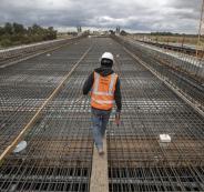 ارتفاع اسعار تكاليف البناء في الضفة الغربية