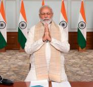 رئيس الوزراء الهندي والصين