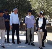 وزير الزراعة الاسرائيلي يقتحم الأقصى