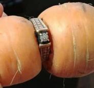 سيدة فقدت خاتمها قبل سنوات لتجد جزرة ترتديه