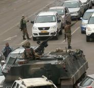 انقلاب عسكري في زيمبابوي