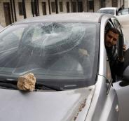 هجمات المستوطنين على سيارات الفلسطينيين بالضفة الغربية