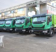 المانيا تقدم مركبات لجمع القمامة في رام الله