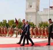 أردوغان والعاهل الأردني يدعوان لإطلاق مفاوضات سلام جديدة