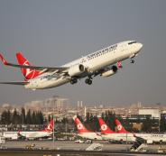 الطيران التركي وفلسطين