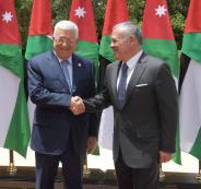 الرئيس يجتمع مع العاهل الاردني في عمان