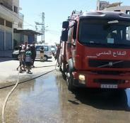 وفاة رضيع بحريق منزل في مخيم قلنديا