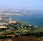 مستوى المياه في بحيرة طبريا يقترب من الخط الأسود