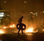 احتجاجات في السويد