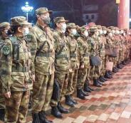 الجيش الصيني وفيروس كورونا