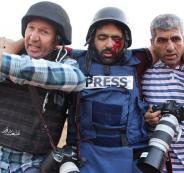 الصحفي معاذ عمارنة