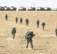 التنهديدات الاسرائيلية لغزة