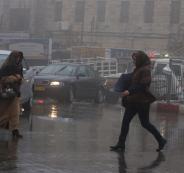 اعلى نسبة هطول مطري في فلسطين