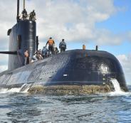 الغواصة الارجنتينية المفقودة
