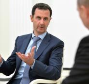 بوتين وبشار الاسد وسوريا
