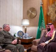 محمد بن سلمان وقيادة الجيش الامريكي