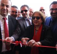 وزيرة الصحة تفتتح عيادات أم الدالية والسلام في الخليل