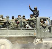 جنود سورييين انضموا الى الجيش