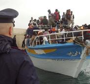 مهاجريين غير شرعيين في ايطاليا