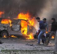 مقتل مدنيين سورييين بتفجير سيارة مفخخة بالقامشلي
