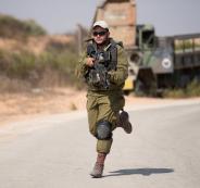 مناورة اسرائيلية في الاغوار