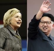هيلاري كلينتون وكوريا الشمالية