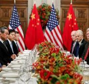 مفاوضات امريكية صينية