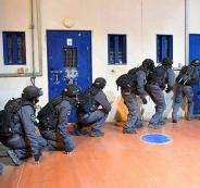 القمع في سجن عوفر
