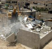 جرافات اسرائيلية تهدم في سلفيت