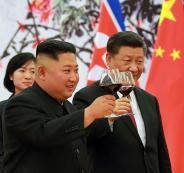 الزعيم الكوري الشمالي في الصين