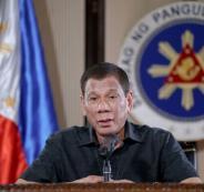 رئيس الفلبين وفيروس كورونا