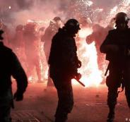 اصابات في تظاهرات بلبنان