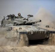 توغل اسرائيلي في قطاع غزة