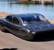 سيارة شمسية