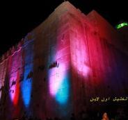 المستوطنين يحتفلون بالحرم الابراهيمي بالخليل