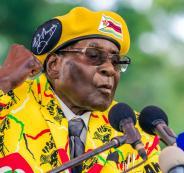 رئيس زيمباوي موغابي يضرب عن الطعام