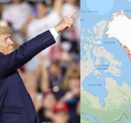 ترامب واكبر جزيرة في العالم